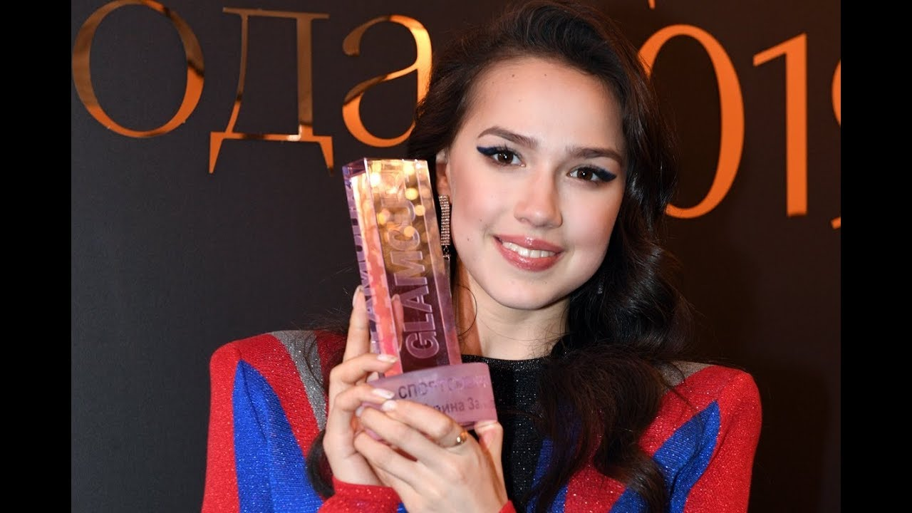 Alina Zagitova 2019.11.12 Glamour Russia Award