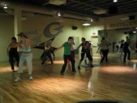"Tari Mannello Dance Choreography to Busta Rhymes ""Shorty"" at Gold's Gym, 2004"