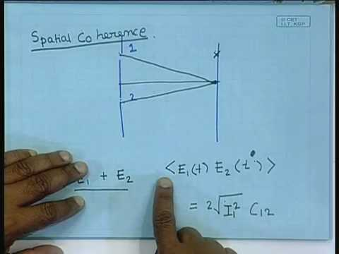 Lecture - 19  Coherence