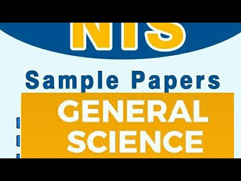 NTS General Science Mcqs Test Online Preparation With Solved Answer Free for all