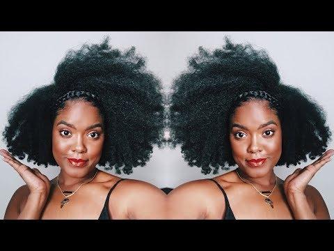 How I Trim & Shape My Natural Hair