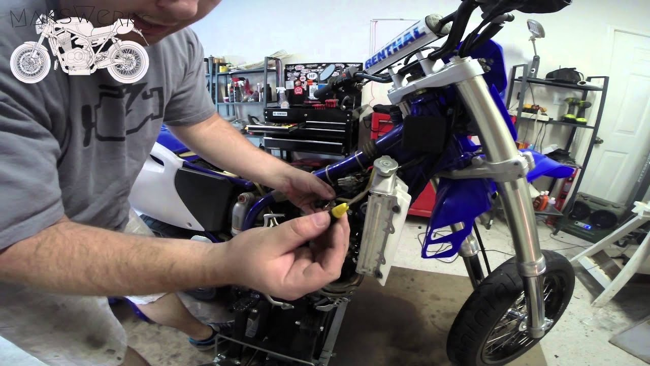 MaksWerks Garage - 2001 Yamaha WR250F - General Mainenance and Free on