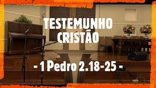 IP Arapongas - Rev. Donadeli - TESTEMUNHO CRISTÃO -  06-12-2020