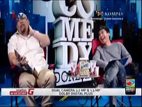 dodit mulyanto pertama tes stand up comedy lucu