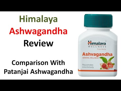 Himalaya Ashwagandha Review | Comparison With Patanjali Ashwagandha | Hindi