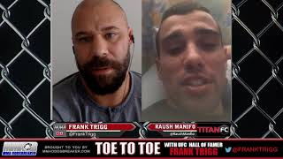 Frank Trigg pre-fight interview with Titan FC 46's Raush Manifo