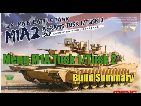 1/35 Meng Tusk 1/ Tusk 2 Build Review