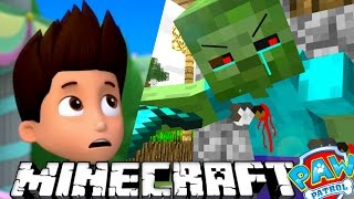 ЩЕНЯЧИЙ ПАТРУЛЬ - У РАЙДЕРА ГАЛЛЮЦИНАЦИИ в МАЙНКРАФТ. Minecraft #12 Развивающий мультик