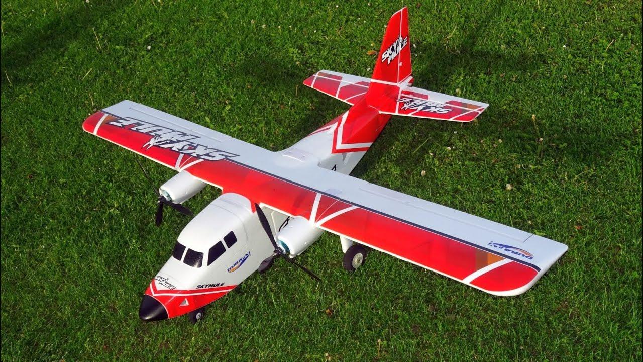 RC DuraFly SkyMule FPV Plane HOBBYKing 1500mm - YouTube