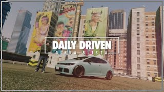 GTA5 STANCE | DAILY DRIVEN DINKA BLISTA | ROCKSTAR EDITOR