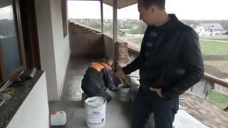 20 04 16   Гидроизоляция балкона или террасы (мастика Isoflex 560 PU BT ISOMAT )(, 2016-04-27T10:06:09.000Z)