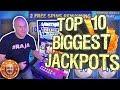 THE TOP 10 BIGGEST SLOT JACKPOT COMPILATION! 🎰June 2019