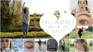 FALL INSPIRED MAKE-UP LOOK & OUTFITS | ThingsJuliaLoves❤️
