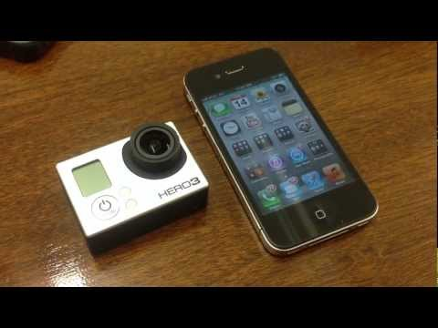 GoPro Hero 3 Black - How to connect your GoPro Hero 3 Black to an iPhone