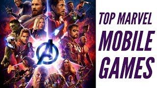 Marvel Avengers Infinity War : Pick of the best mobile games