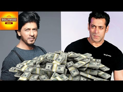 Salman Khan Beats Shah Rukh Khan By Becoming The Richest Celebrity   Bollywood Asia