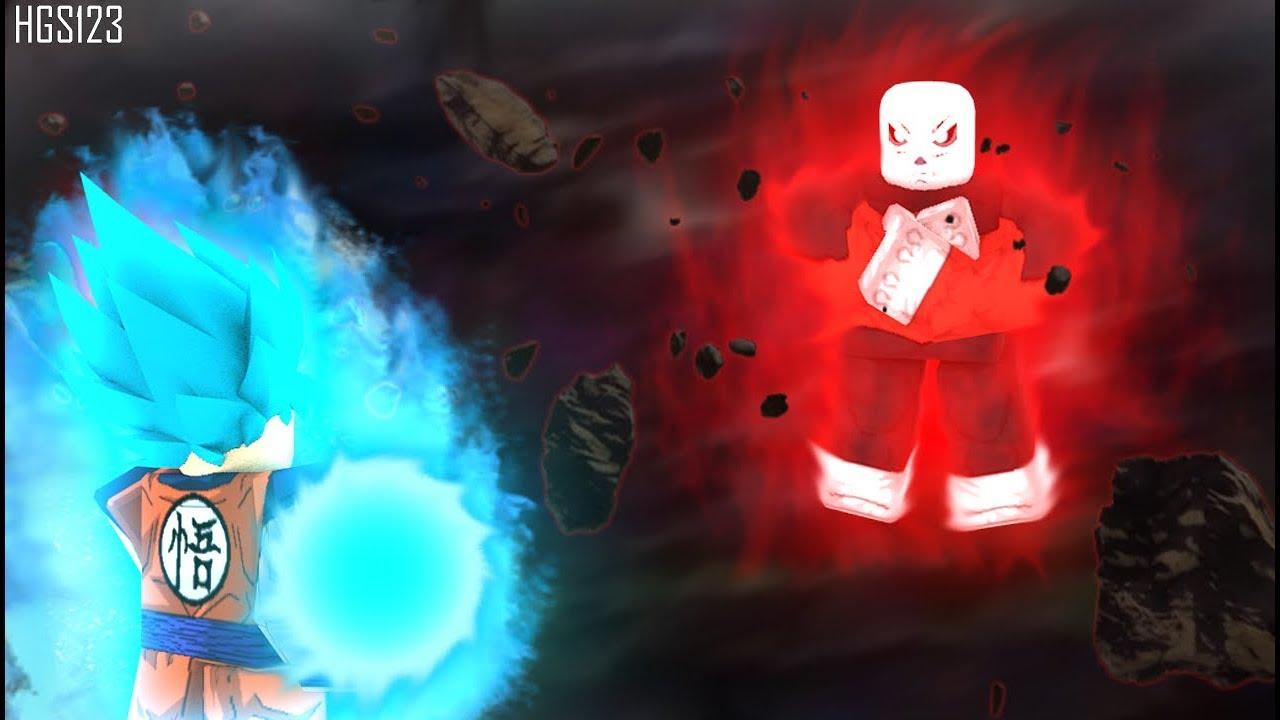 Goku Vs Jiren Roblox Dragon Ball Z Final Stand Goku Vs Jiren Anime Reenactment And Moveset Youtube