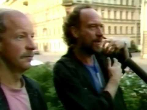 Ian Anderson & Martin Barre From Jethro Tull - First Time In Russia June 1992