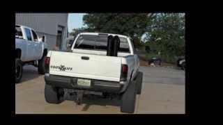 "SoFlo Diesel 6"" Dual Side-by-Side Miter Cut Stacks on Cummins 24v"
