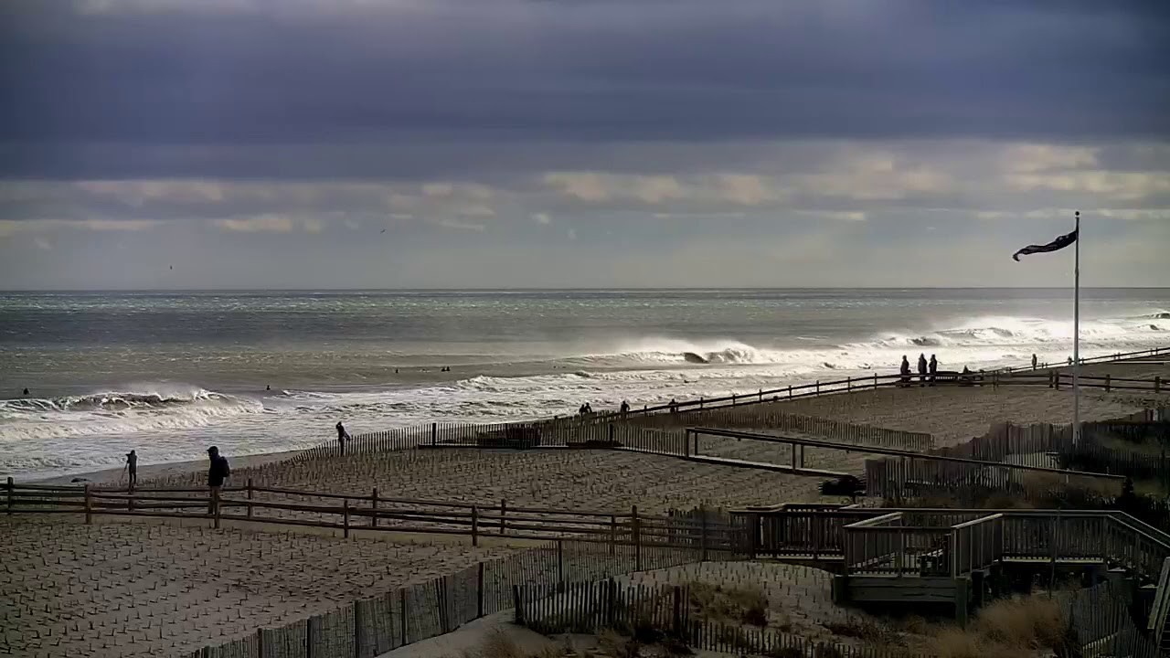 Classic New Jersey Winter Swell - Surfing Spring Lake, Bay Head
