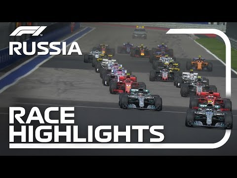 2018 Russian Grand Prix: Race Highlights