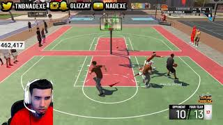Nadexe rages at his teammate in Nba2k19