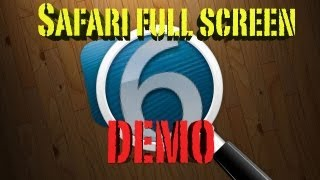 iOS 6 Full Screen Mode REVIEW I hope you liked my video! SUBSCRIBE!...