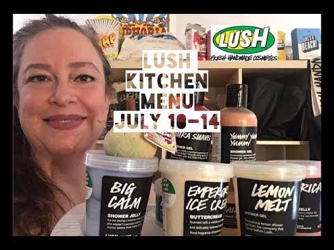Lush Kitchen Menu July 10-14 - YouTube