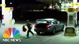 Kidnapped Victim Escapes From Trunk As Car Stops At Gas Station | NBC News