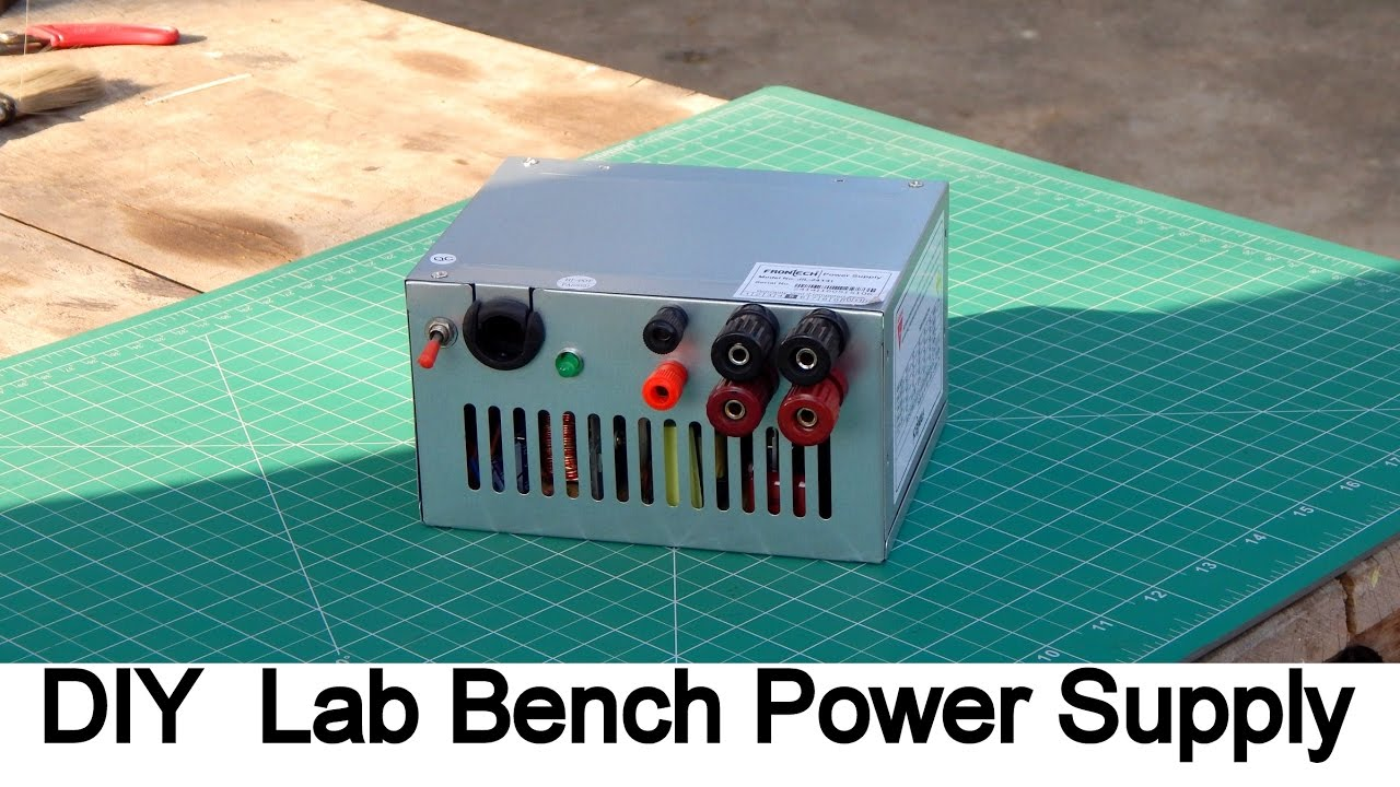 Diy Bench Power Supply With Atx Power Supply