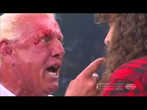 Ric Flair Almost Has A Heart Attack AGAIN!!! (TNA Impact Wrestling)