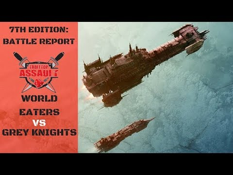 World Eaters vs Grey Knights 1500pts Battle Report