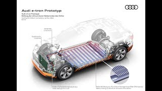 Audi e-tron 95 kWh thermal management system