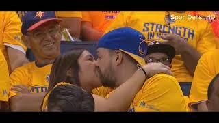 sports kiss in public