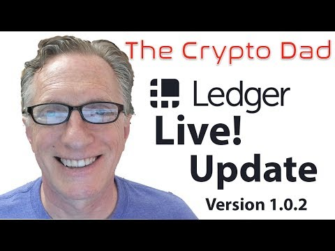 Using Ledger Live Desktop: Update Version 1.0.2