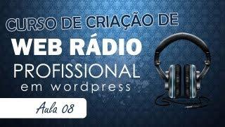 Criando Web Rádio Profissional - Aula 08 / Colocando player fixo sem travar