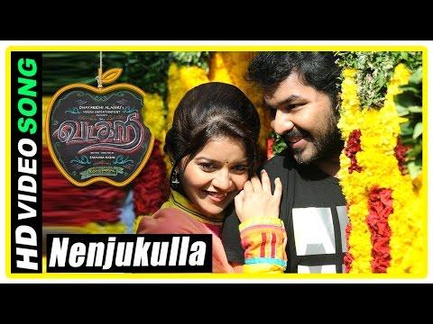 Vadacurry Tamil movie scenes | Nenjukulla Nee song | Swathi falls for Jai | RJ Balaji