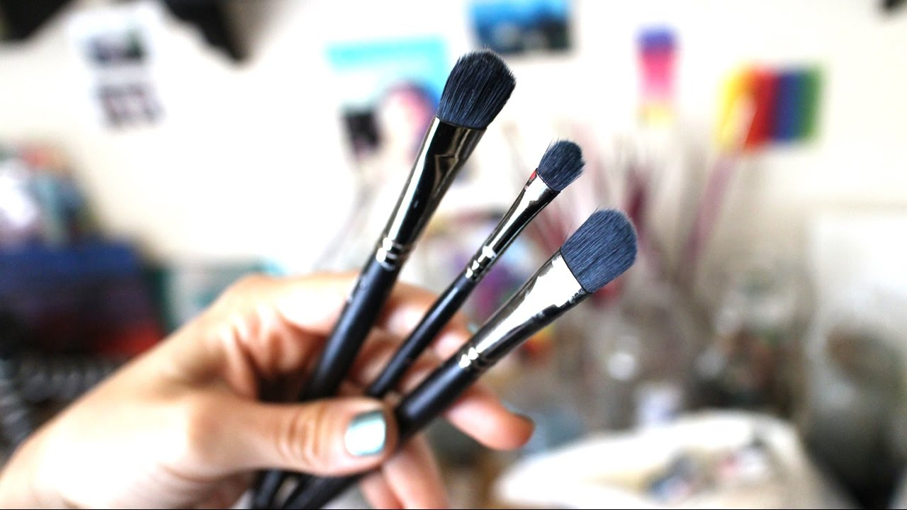 How to restore dried up oil paint brushes | My method