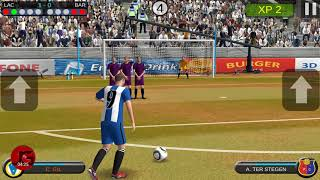 Mobile Kick Gameplay /Mobile Soccer Game Dribbling Android Game |Sport Game|