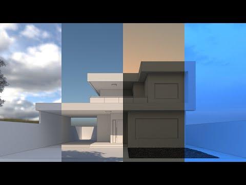Como Fazer Iluminação Externa No V-ray Para Sketchup