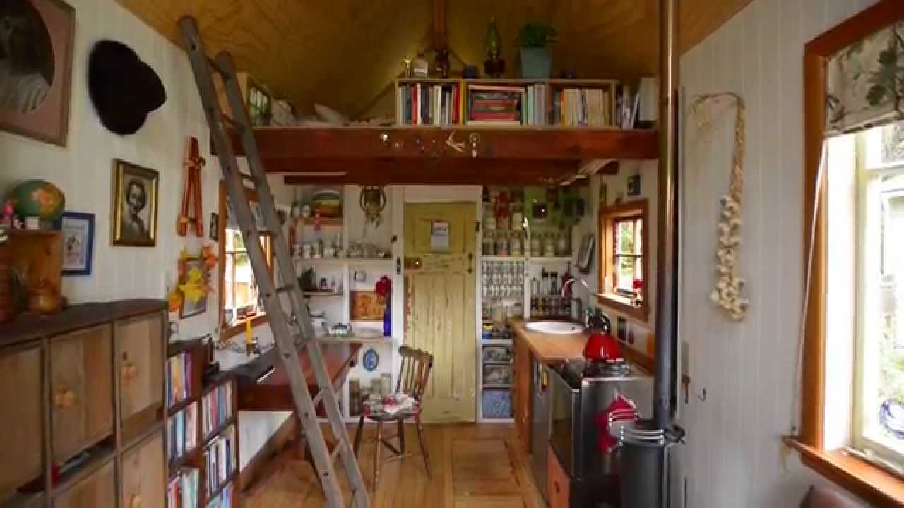 Space saving secrets of a tiny 14sqm house youtube for House decoration ideas for small house