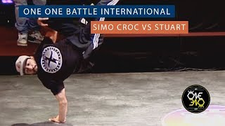 Simo Croc vs Stuart | Eight Finals | ONE ONE BATTLE INTERNATIONAL 2019