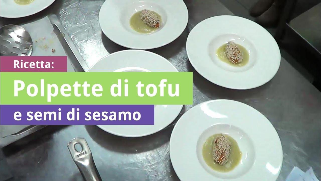 Polpette di Tofu e Semi di Sesamo  Ricetta di Cucina Naturale  YouTube