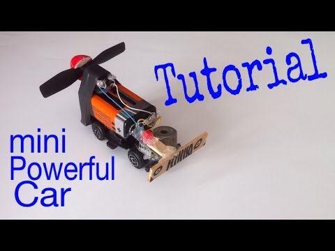 How To Make A Car Mini Electric Tutorial Very Simple