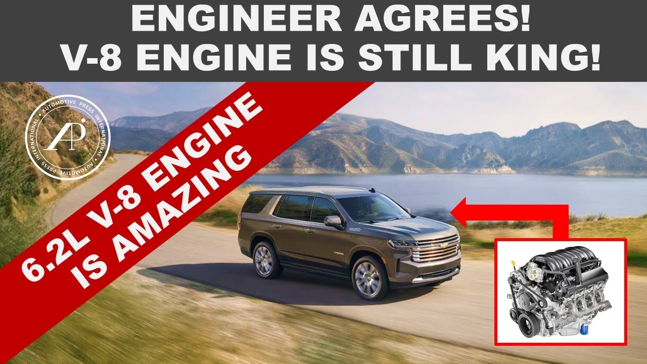 V-8 ENGINE IS STILL KING! - ENGINEER AGREES THERE IS NO REPLACEMENT FOR DISPLACEMENT
