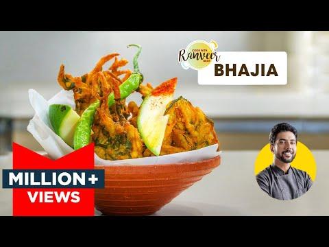 Crispy Bhajiya Recipe | भजिये पकोड़े बनाने का तरीका | Perfect Monsoon snack | Chef Ranveer Brar