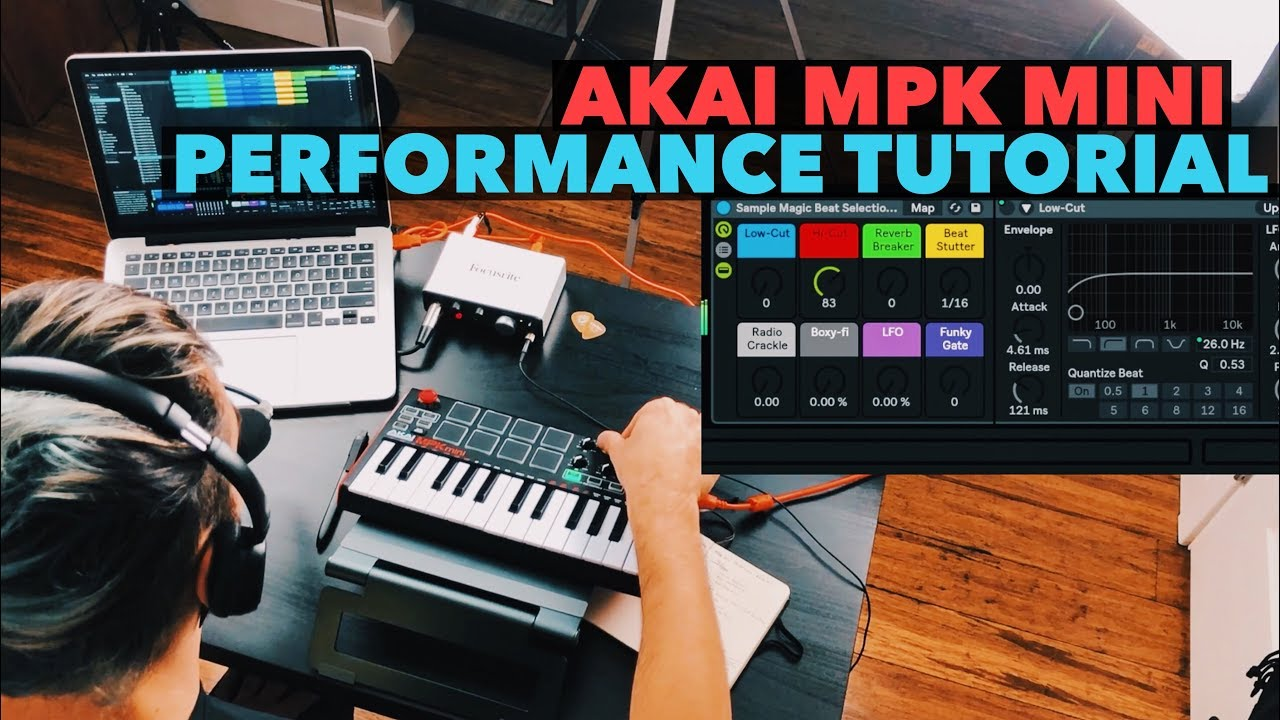 AKAI MPK Mini & Ableton Live Performance Tutorial