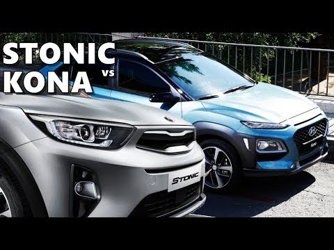 2018 kia kona. unique kia hyundai kona vs kia stonic 2018 crossovers and 2018 kia kona