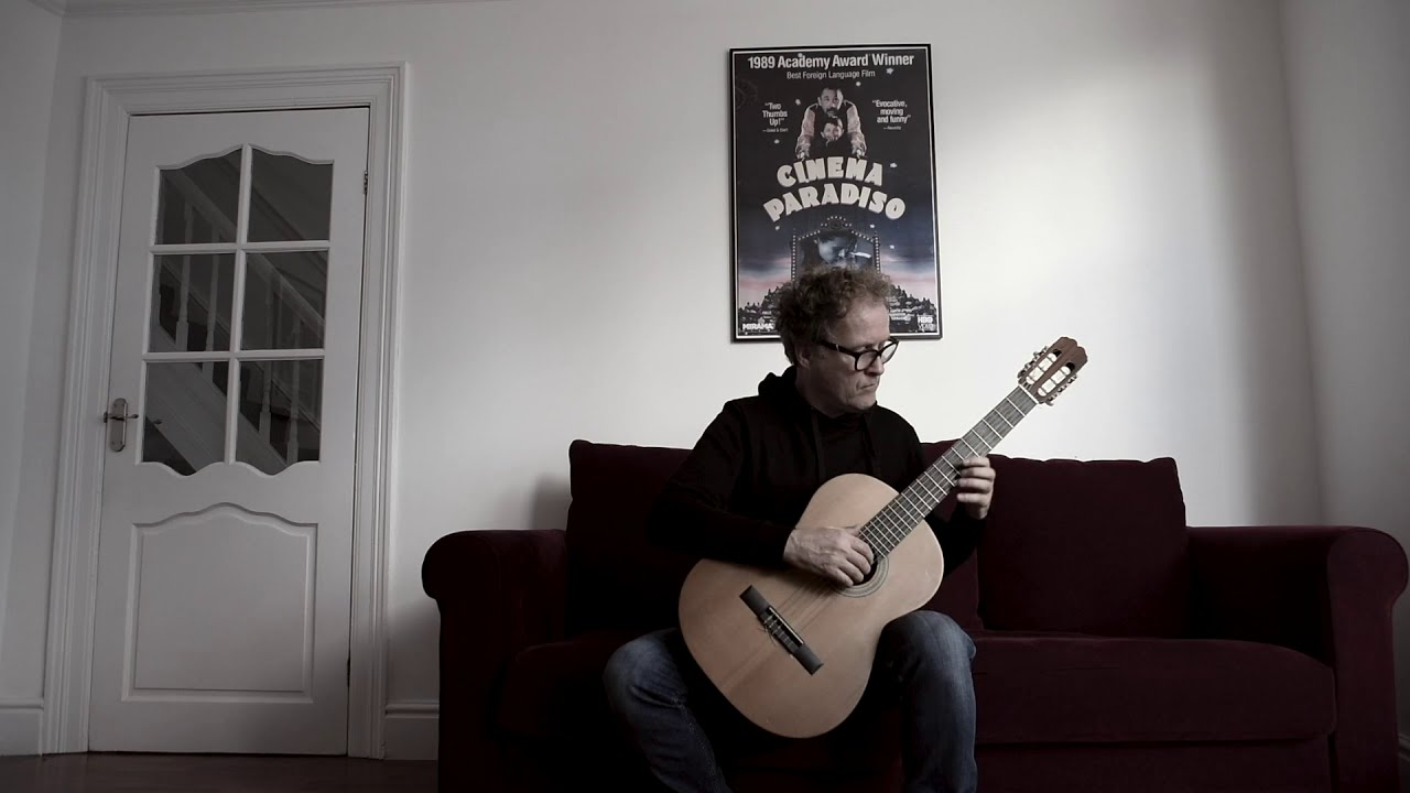 Spanish Romance (anon): Brian Kavanagh - classical guitar