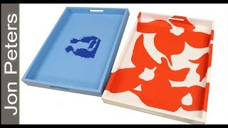 How to Make Serving Trays